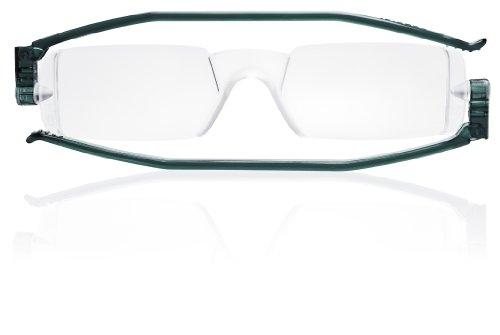 Nannini Compact One Optics 1.5 Temples Reading Glass (Grey) (Powersports Equipment)