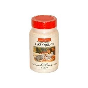 Resources CAS Options Feline Immune and Antioxidant Support, 60 tabs, My Pet Supplies