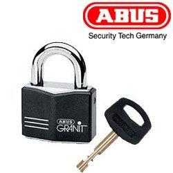 ABUS 南京錠 Granit 37RK 55サイズ キー2本付属 あらゆる破壊に強い、ドイツの技術の粋を集めたハイクラスモデル 高性能プラスシリンダーキー アバス グラニット 37RK/55 B01I2GUZCG