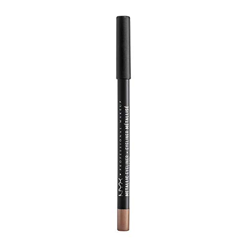 NYX PROFESSIONAL MAKEUP Metallic Eyeliner, Rose Gold, 0.048 Ounce