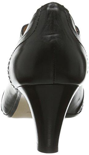 Evita Shoes Schnürer - Zapatos de vestir de cuero para mujer Damen34_42 negro - negro