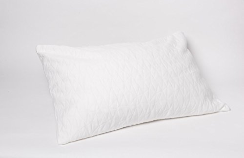 Size Pillow Queen Dimensions (JustNile Queen Size 100% Natural Latex (Shredded) Adjustable Pillow | Ventilated Plush Foam | Soft | Ergonomic for Comfortable Sleep; with Extra Cover Included – Standard Dimensions)