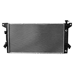 TYC 13099 Ford F150 1-Row Plastic Aluminum Replacement Radiator