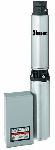 Simer 2865G 1 HP 4-Inch Submersible Well Pump