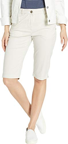 - Tribal Women's Stretch Mini Twill Fly Front Bermuda Stone 16 13