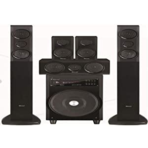 Gadget-Wagon MIT Bluetooth, Optical 5.1 Channel Home Theater Tower Speaker with USB, FM Radio , Surround Sound , LED Display (175 Watts RMS)