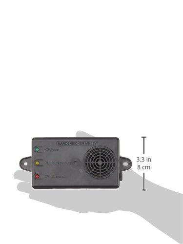 Son ultrasonique et Haute Tension mardersicher MS 12/V Mobil Martre R/épulsif Rat et syst/ème