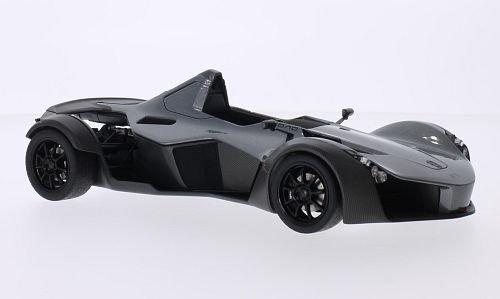 BAC Mono, metallic-grau, 2011, Modellauto, Fertigmodell, AUTOart 1:18