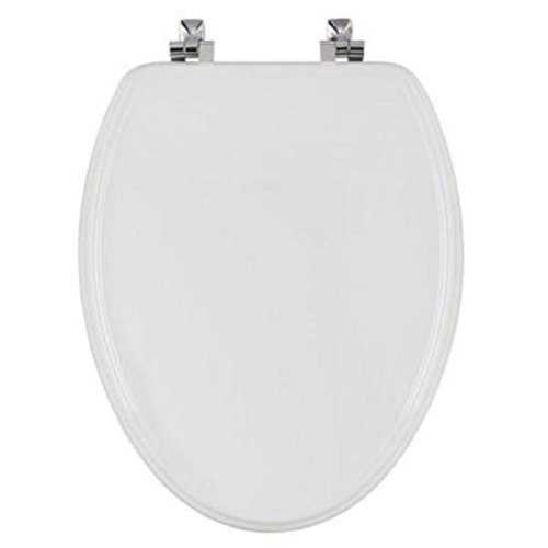 Bemis STA-TITE Elongated Closed Front Toilet Seat in White