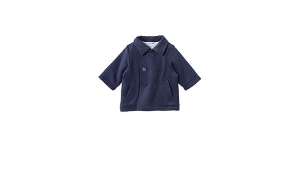 Petit Bateau - Abrigo con Cuello Barco Infantil, Talla 3 mois - Talla Francesa, Color Azul (Smoking): Amazon.es: Ropa y accesorios