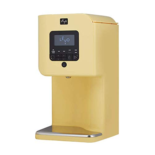 LEVO II - Herbal Oil and Butter Infusion Machine - Botanical Activator, Herb Dryer and Oil Infuser - Mess-Free and Easy to Use - WiFi-Enabled via Programmable App (Meyer Yellow)