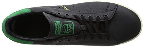 Core Sneaker Black Basso adidas Green Verde Core Smith Stan Nero Black Uomo Collo a p1xSzwxB