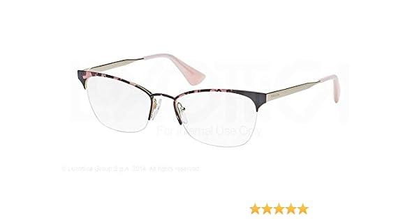 a49896bd25 Amazon.com  Prada PR65QV Eyeglasses-ROJ 1O1 Pink Havana-51mm  Shoes