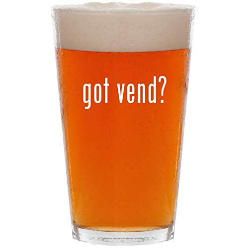 got vend? - 16oz All Purpose Pint Beer Glass for sale  Delivered anywhere in USA