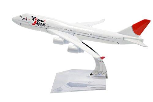 TANG DYNASTY 1/400 16cm 日本航空 Japan Airline JAL ボーイング B747 高品質合金飛行機プレーン模型 おもちゃ
