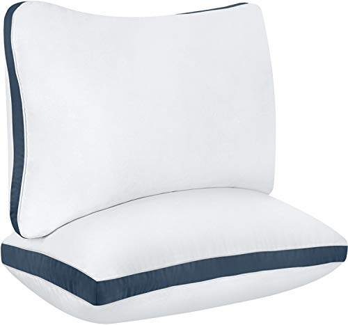 Utopia Bedding Cotton Gusseted Pillow (2-Pack)