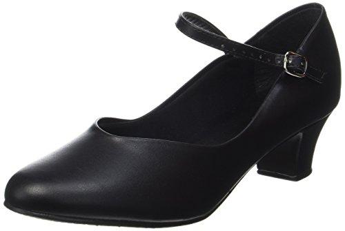 So Danca CH50 Women's Character Shoe 1.5in Heel Black 7.5M US