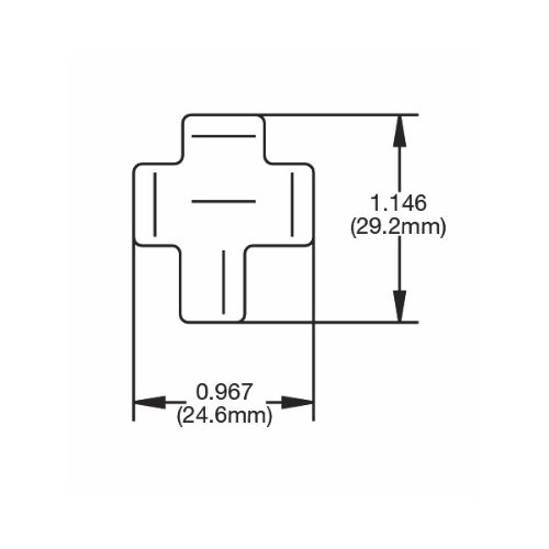 HELLA H84703001 Socket For 70 Amp 4 Terminal Relay