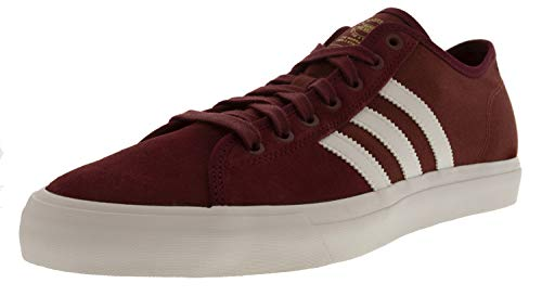 Adidas Lifestyle Shoes - adidas Mens Matchcourt RX Skate Shoe, Adult, Collegiate Burgundy/Footwear White, 10.5 M US