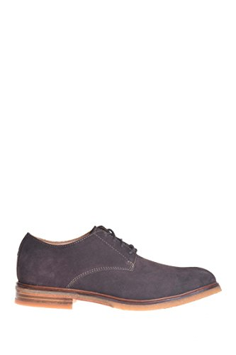 Clarks Mens Clarkdale Moon Scamosciato Oxford Marrone Scuro Suede