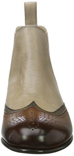 Melvin & HamiltonSally 19 - Botas Chelsea Mujer Mehrfarbig (Crust / Sokowash / Crust Mink (1,6) / Bronze (2,5) / Rope (3,4))