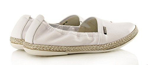 BOSCCOLO 4086-87-88-89-90-91 Mokassins, Moccasins, Leather, Leder, Cuir White