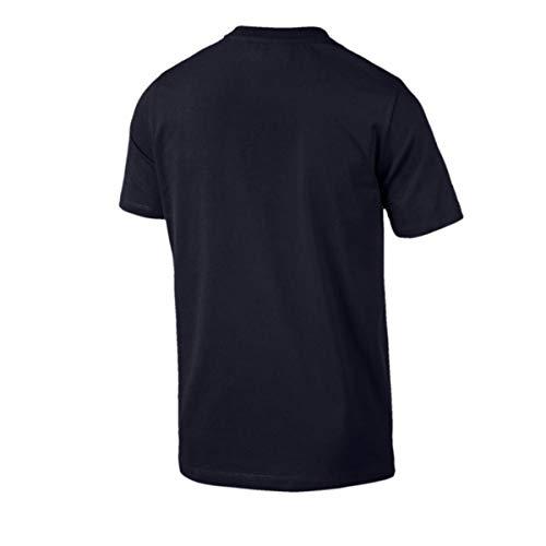 T shirt Puma Mms T Logo Minãral Homme Bleu Bmw xqwX4RwI