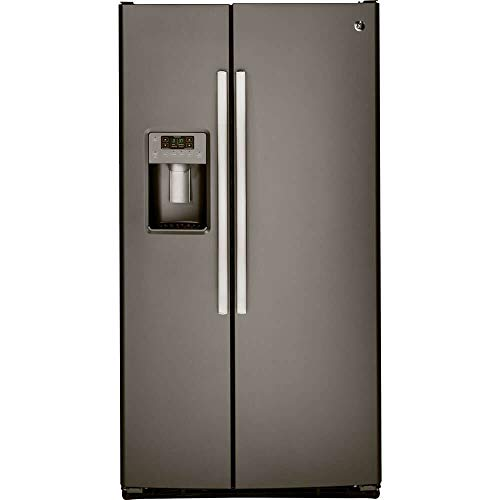 GE GSS25GMHES 25.4 Cu. Ft. Slate Side-By-Side Refrigerator (Certified Refurbished)