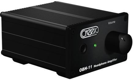 Creek Amplifiers - Creek OBH-11 Headphone Amplifier (Black)