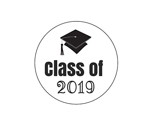 Class of 2019 Graduation Stickers - Set of 20 ()