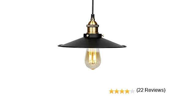 Lámpara de techo Vintage Retro Edison Loft – Plafón industrial ...