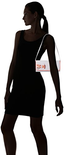 Ruby Stripe Womens Shoo Clutch Barcelona Coral Grey H01HqrZ