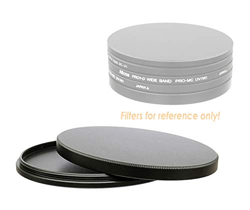 Fotasy 52mm Metal Filter Stack Caps, Filter Stack 52mm, Aluminum Alloy, Slim Stack fits 52mm UV CPL Fader ND Filter