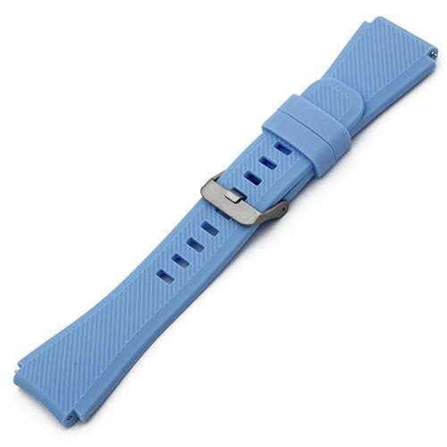 Jewh Silicone Rubber Watch Band - 22mm for LG G Watch - LG Watch Band -