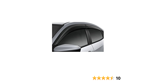 Honda Genuine Factory Door Visors 08R04-TK8-100A; 2011 to 2014 Odyssey set of 4 for all doors