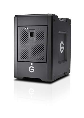 G-Technology 16TB G-SPEED Shuttle Thunderbolt 3 - Transportable, 4-Bay RAID Storage Solution - 0G10067