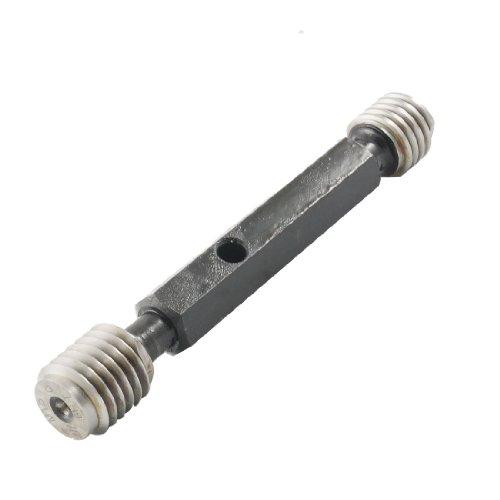 Aexit M18 x Measuring Tools 2.5 6H Metric Steel Double End Taperlock Handle Thread Gage Gauge -