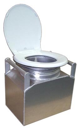 ''Jon-ny Partner'' Toilet System Tank only (includes lid & attachments)