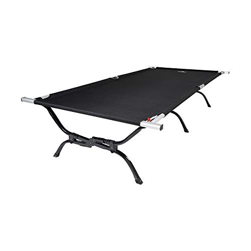 TETON Sports Outfitter XXL Camping Cot with Patented Pivot Arm; Folding Cot Great for Car Camping