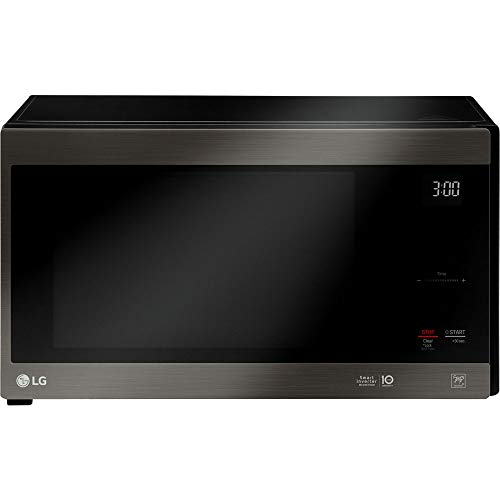 LG Black Stainless Steel Series 1.5 cu. ft. NeoChefTM Countertop Microwave with Smart Inverter and EasyClean