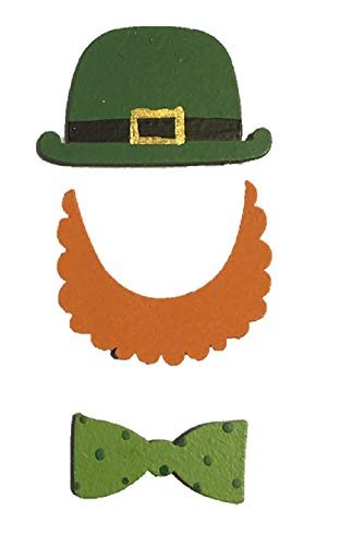 Roeda Brighten Your Life 13479M Saint St Patty Day Leprechaun Photo Prop Magnets Pack of 3 Made in -