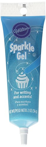 - Wilton 704-9991X Light Blue Sparkle Gel Icing Dispenser