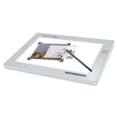 Artograph LightPad Lightbox with 6-Inch by 9-Inch work surface by Artograph