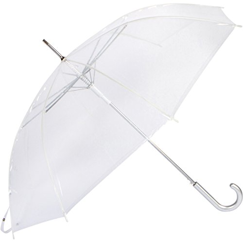 Cloak Umbrellas Auto Open Clear Umbrellas, 46'' ARC by Cloak Umbrellas (Image #1)