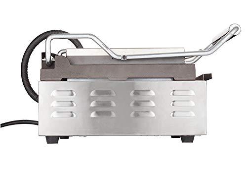 Winco EPG-1C, 14 X 16-Inch Single Surface Electric Panini Grill, 120V~60Hz, 1800W, 15A, NSF, Sandwich Press, Panini Maker, Panini Press by Winco (Image #3)