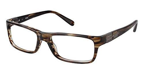 Kenzo 4177 Eyeglass Frames - Frame BROWN HORN, Size - Kenzo Glasses