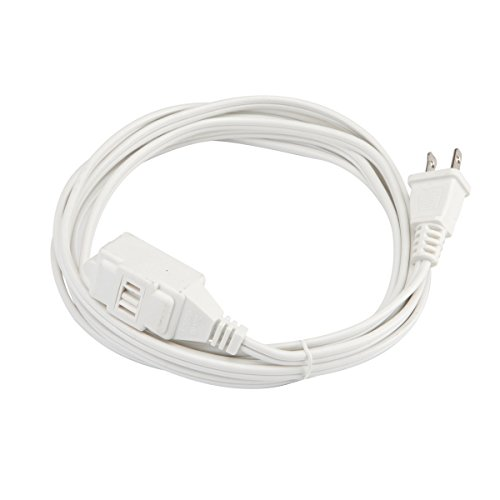 luxrite lr61020 16 2 spt 2 3 outlet extension cord with safety cover color white 20 feet etl. Black Bedroom Furniture Sets. Home Design Ideas