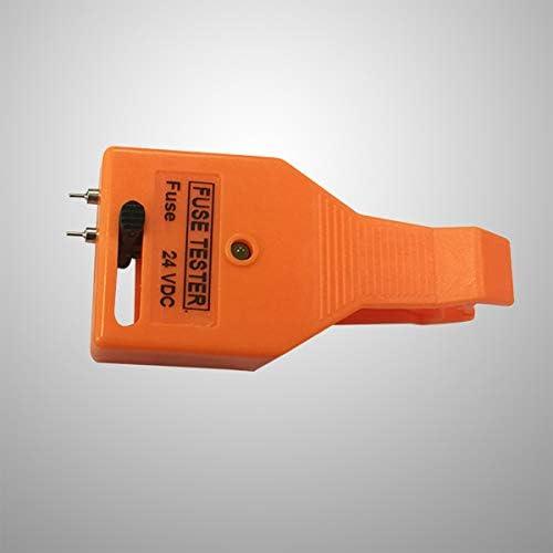 Vosarea Tirador Ajustable del probador del Fusible del veh/ículo automotriz del Coche con la luz del indicador Naranja