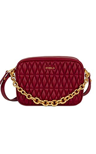 Furla Women's Furla Cometa Mini Crossbody Bag, Ciliegia, Red, One Size (Sonnenbrille Furla)