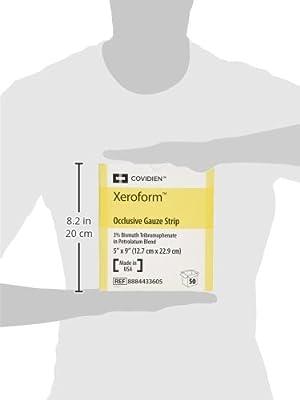 "Xeroform Petrolatum Gauze Dressing 5"" x 9"", Box of 50"